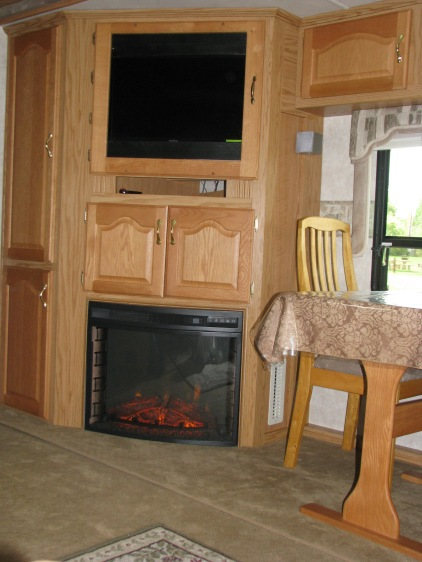 Fireplace install