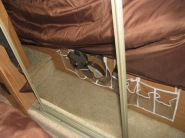 Under bed shoe or small items storage