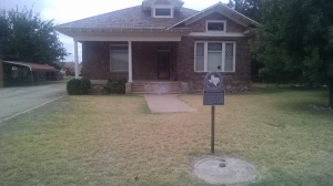 C.W. Post House in Post, Texas