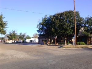 Woods RV Park in Post, Texas