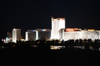 Casino Lights in Laughlin, NV