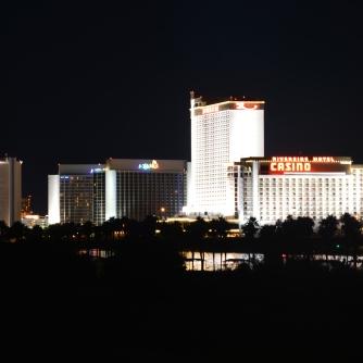 Casino Lights in Laughlin, NV