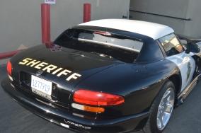 Sheriff's car in Pismo Beach