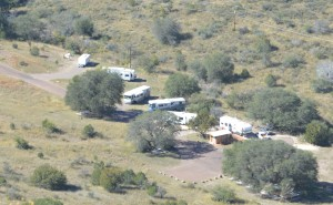 Our campsite in the Davis Mountains State Park