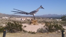Road Runner Tribute on the way to Big Bend