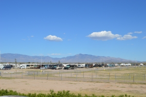 Our Walmart view in Las Cruces, New Mexico