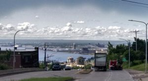 Lake Superior Harbor in Duluth