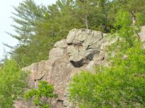 Turbined man's face in the bluff