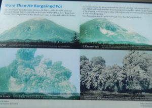 Mt St Helen as it blew in 1980