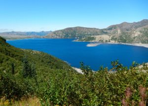 Spirit Lake Mt St Helen