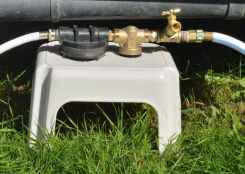 Water inlet system tidy up