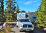Our camp at Diamond Lake