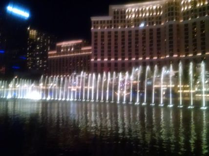 Fountain Show at Belllagio
