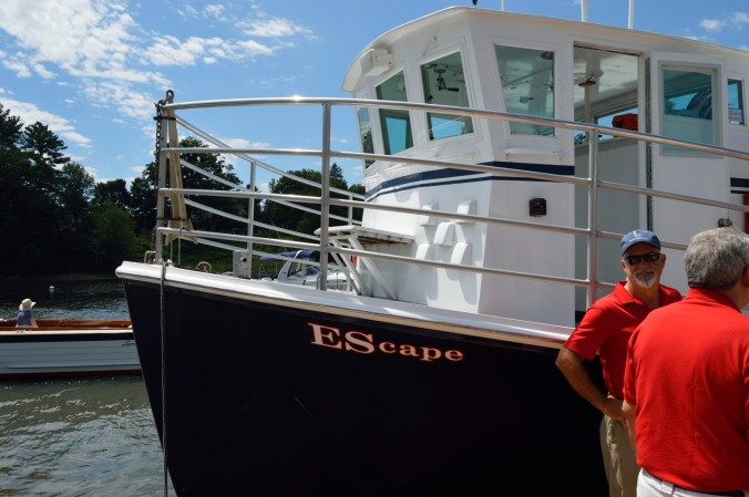 Our boat named Escapee