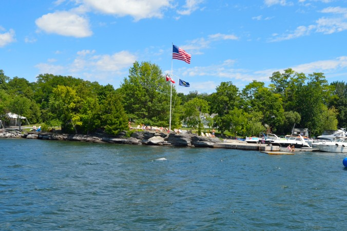 Island on Lake Champlain