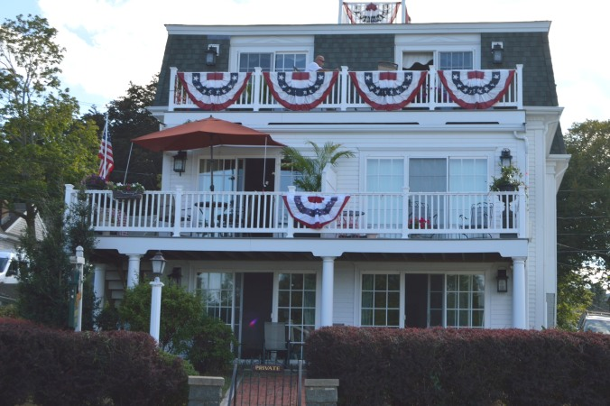 Plymouth Harbor Homes decked out for Independance Day
